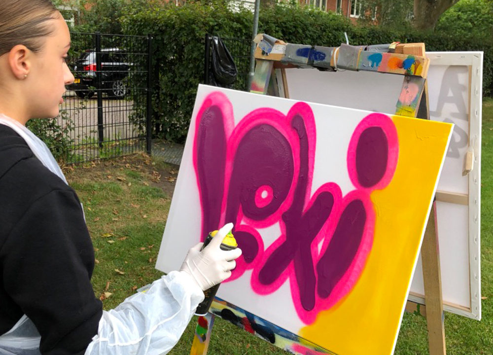 Graffiti workshop Bonaventura