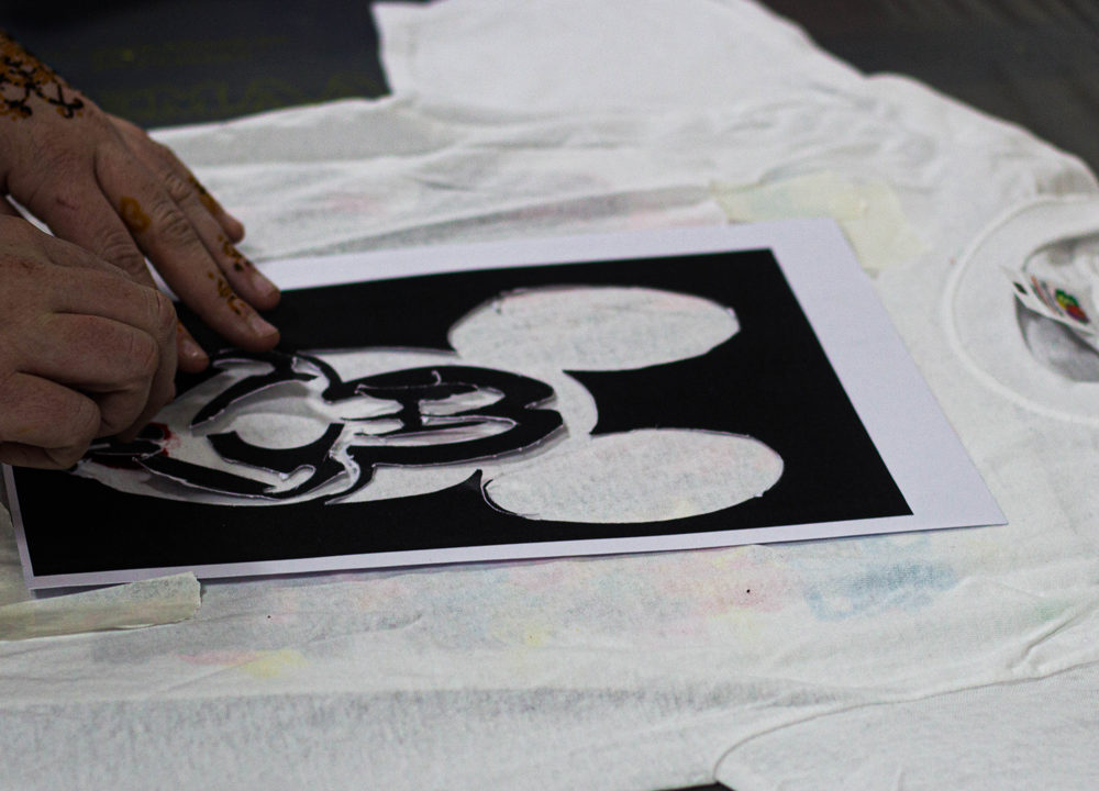 Street Art workshop Wellant College