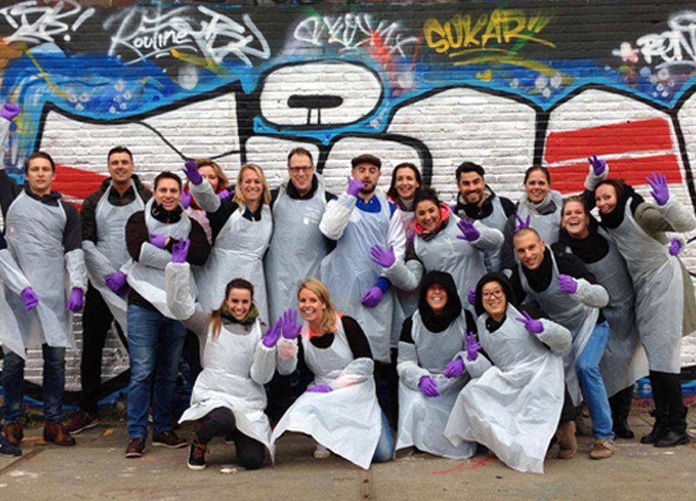 Graffiti workshop RTL Nederland